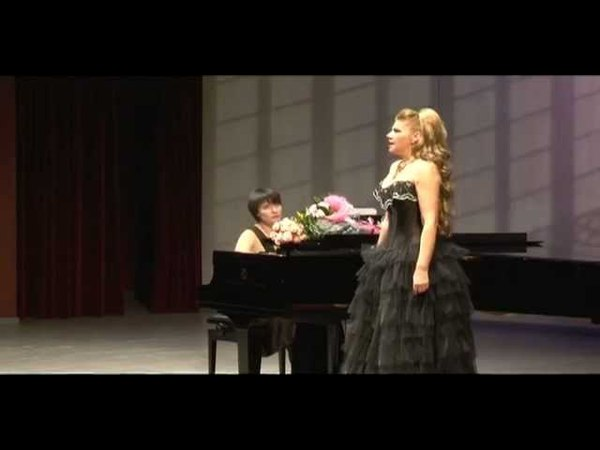Marina Agafonova - Aria Silva from operetta Silva (Die Csárdásfürstin) - E.Kalman