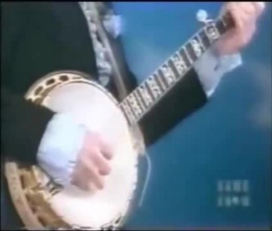 Steve Martin plays the banjo on the Gong Show