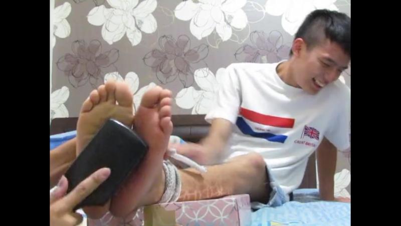 Asian Teen - Tickle Torture