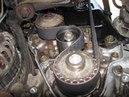 Замена переднего сальника коленвала Daewoo Matiz Дэу Матиз 0 8 механика 2011 года