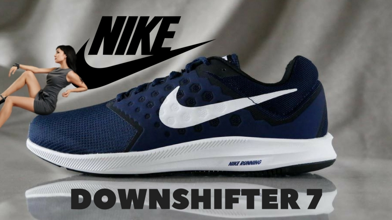 Nike Downshifter 7 NAVY | Презентация ON FEET