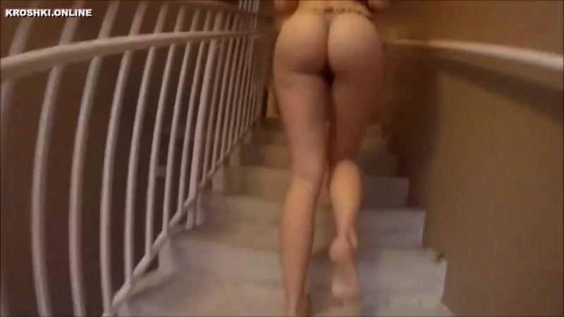 Снял пьяную соседку когда она возвращалась домой секс жопа попка порно