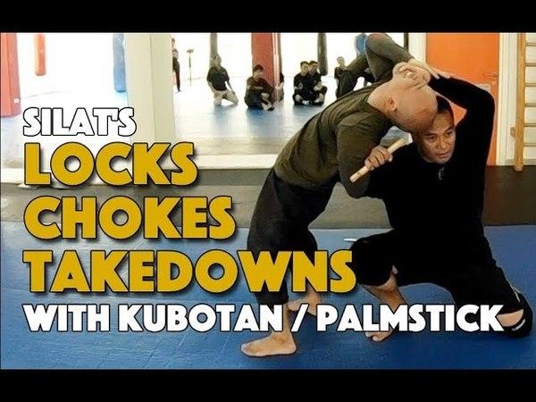 Jointlock , Chokes Takedowns with the Kubotan / Palmstick - Silat Suffian Bela Diri