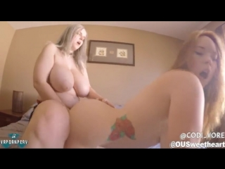 Summer hart  codi vore strap-on fucking - big ass butts booty tits boobs bbw pawg curvy mature milf