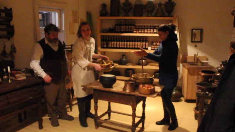 Музейная фабрика пастилы в Коломне