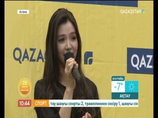 «Cover time» айдарында – әнші Альбина Шардарова
