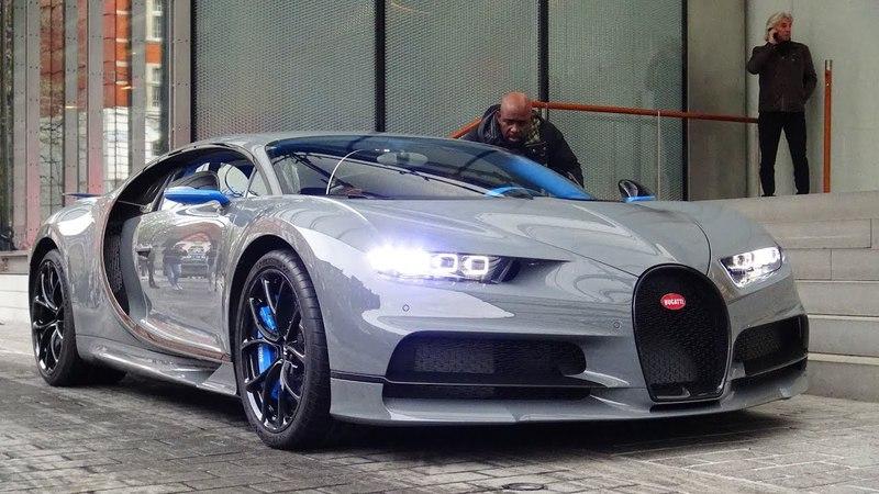 1 of 1 Nardo Grey Bugatti Chiron - Start Ups Driving