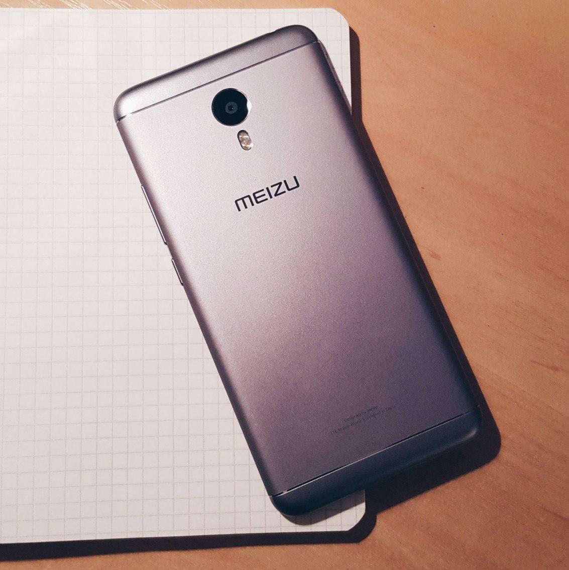 Срочно продам телефон Meizu M3 Note (Grey, 32GB).