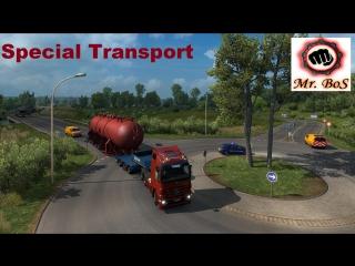 ETS2 Special Transport DLC Потаскаем тяжести
