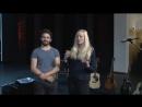 Интервью с Лукой СТРИКАНЬОЛИ гитара Италия и Мег ПФАЙФФЕР вокал гитара фортепиано Германия