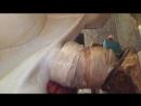 Замазка гофры за унитазом герметиком