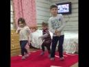 Биеп күңел ачабыз! (Л. Нигъмәтҗанова һәм Ф. Таишевның балалары)