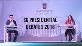 Presidential Debates of NU SG 2018