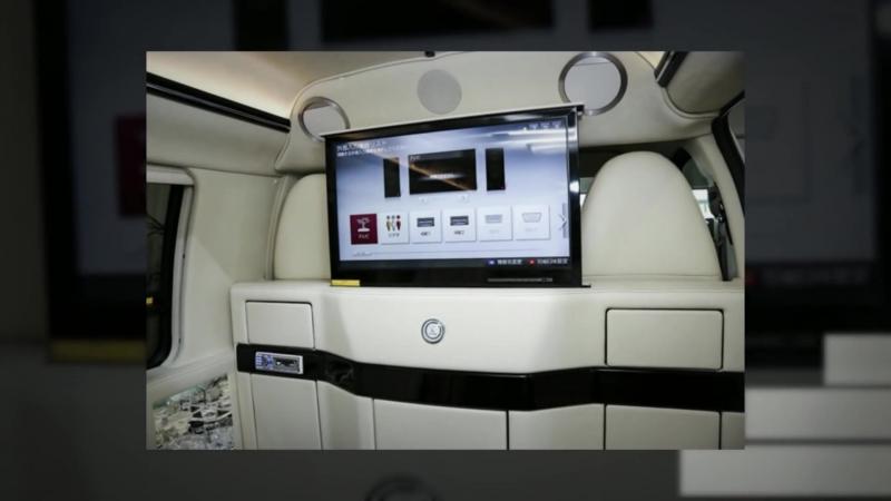 GMC Savana 2500 Ext. ٭Luxus-V.I.P.-Edit.٭TV٭Minibar Van⁄Kleinbus C.E.Motors - Exklusivfahrzeuge