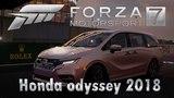 Минивэн который натянет твою гонку. Honda Odyssey 2018 Forza Motorsport 7. Acceletation