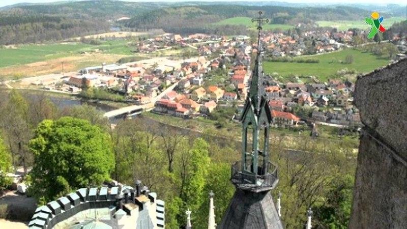 Hluboká - zámek jako z pohádky