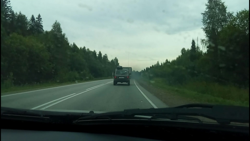Дорога в Красновишерск