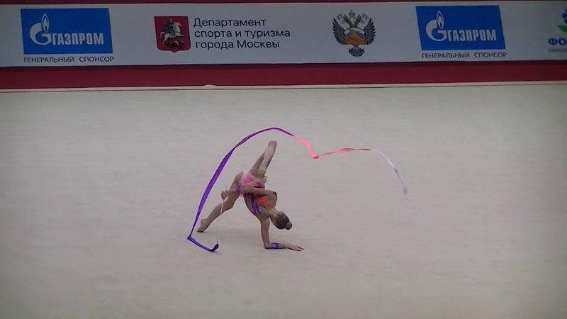 Striga Yana BLR ribbon Moscow YOG Qualification 2018