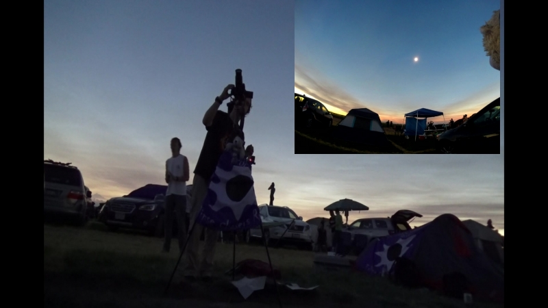 Полное солнечное затмение 21 августа 2017, США/Total solar Eclipse USA Madras, Oregon