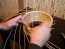 Плетение кромкирозга-Weaving edge