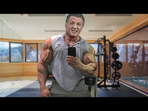Sylvester Stallone 72 Years Old Age Is Just A Number