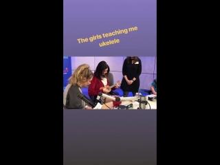 История за 8 февраля 2018 (instagram.com/lanadelrey) / 8 февраля: Лана в детской больнице