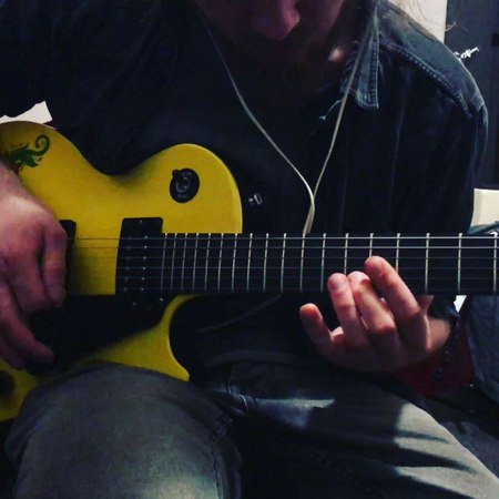 "DMiles on Instagram ""Another jam track with @seasbastian! Enjoy! gibson lespaul gibsonlespaul guitar solo sologuitar metal heavymusic exp..."