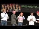VK 180512 MONSTA X @ Incheon Fansign