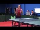 Уроки настольного тенниса на Новой Риге. Урок 6