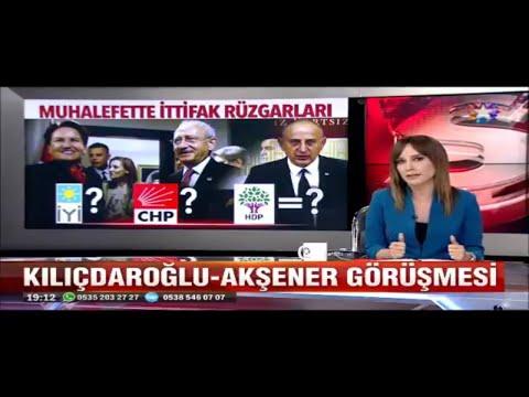 Muhalefette ittifak rüzgarları Kılıçdaroğlu Akşener ile görüştü CHP ile HDP ittifak yapacak mı