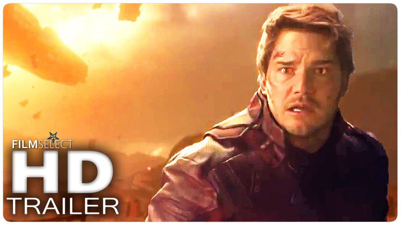 AVENGERS INFINITY WAR Star Lord is afraid Trailer (2018)