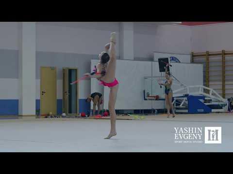Training 23.05.2018 / rhythmic gymnastics in Russia