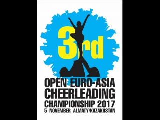 3rd Euro-Asia Cheerleading Championship