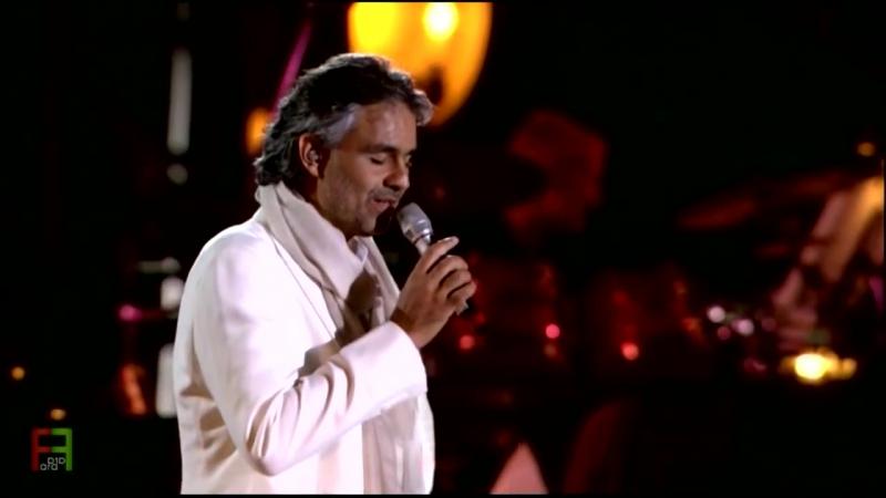 Andrea Bocelli - Medley - Besame Mucho - Somos Novios - Cant Help Falling In Love.