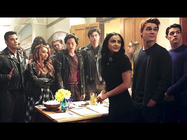 Riverdale 2x10 The Serpents join Riverdale High School, Cheryl and Reggie interfere (2018) HD