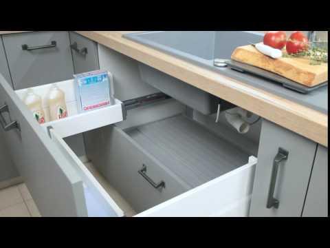 WFM KUCHNIE otwieranie szuflady pod zlewem
