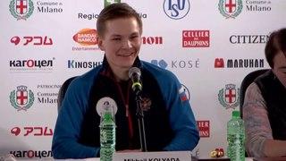 Men Free Skating Press Conference - ISU World Figure Skating Championships Milan 2018
