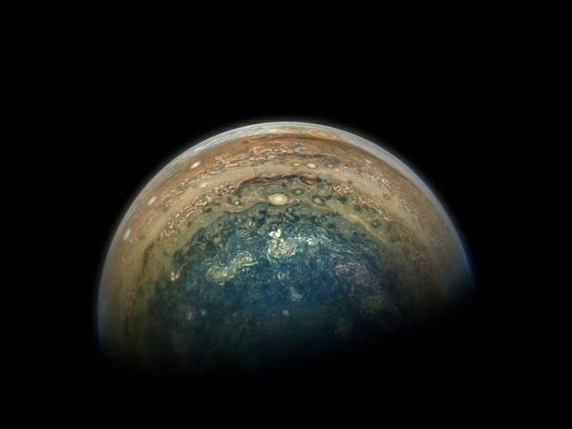 NASA Juno Spacecraft Jupiter Flyby