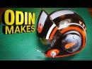 Odin Makes: Poe's Helmet from Star Wars: The Last Jedi