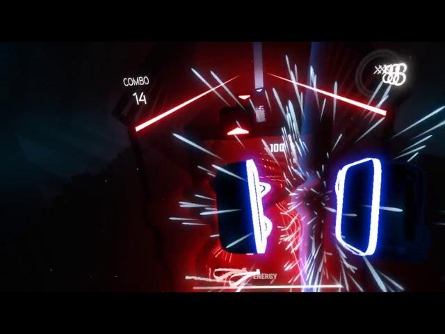 Beat Saber Gameplay Teaser (Hyperbolic Magnetism) - Rift, Vive, PSVR