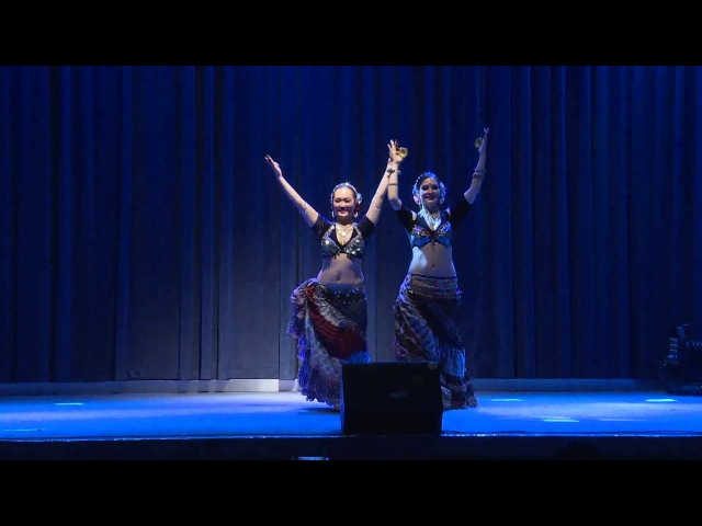 Tribal Bridge China -ATS® Duet Katarzyna Lidia and Eleen Kim