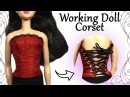 How to Working Doll Corset Sewing Craft Tutorial