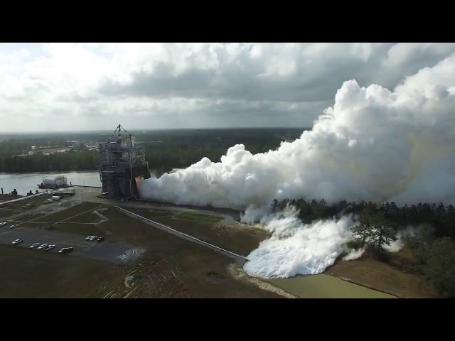 RS-25 Engines Powered to Highest Level Ever during Stennis Test