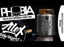 PHOBIA RDA l by Alex from VapersMD Vandy Vape l ПРЕЗЕНТАЦИЯ И ЗАПУСК 🚭🔞