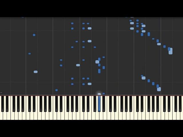 Gareev Artem - Ballade №1 (gis-moll) (Synthesia)