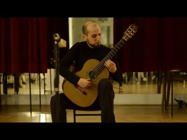 Бах токката и фуга ре минор на классической гитаре J. S. Bach - Toccata and Fugue in d minor