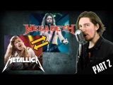 Metallica &amp Megadeth VOICE SWAP (Parody) Part 2