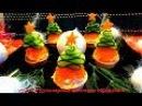 5 Вкусных закусок на НОВЫЙ ГОД Праздничные рецепты - Как красиво оформить стол