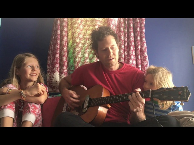 Chad VanGaalen and his daughters perform Static Shape in bed | MyMusicRx Bedstock 2017
