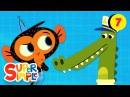 Captain Crocodile's Boat Keeps Floating Away! | Cartoon For Kids